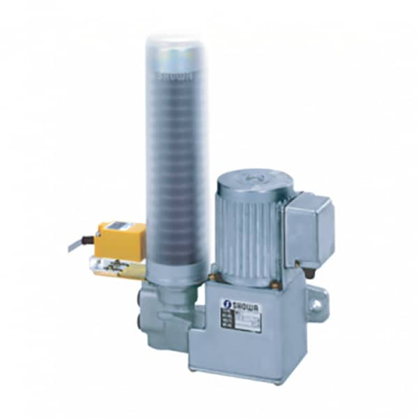 Product - Showa Centralised Lubrication System - Grease Systems - Automatic - Motorised Sign Pump MHG7